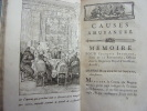 CAUSES AMUSANTES ET CONNUES 1769.