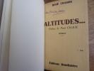 Altitude - Branlebas de combat. Paul Chack