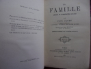 La famille. Leçons de philosophie morale.. Paul Janet