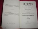 LE MONDE  AMÉRIQUE & OCÉANIE JUSQU'À 1835.