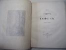 Tyrol. Trente et Inspruck ( Histoire & description ). Frédéric Mercey
