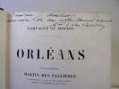 Orléans. Campagne de 1870-1871. Martin des Pallières