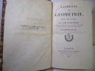 Éléments de géométrie avec des notes . Adrien Marie Legendre