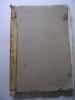 Journal manuscrit 1803-1837. Région Catalanne. Colonel Chevalier Roby