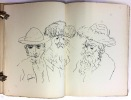 Le Retour à Jérusalem. Avec 73 dessins inédits de FEDER.. ( FEDER ) - ( JUDAICA ) - BONARDI Pierre.
