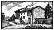 Les Vaillances, farces et aventures de Gaspard des Montagnes. Édition définitive.Édition illustrée de 64 bois gravés de François Angeli.. POURRAT ...