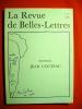 Mémorial jean Cocteau (Revue des belles-Lettres n° 1-2, 1969).. COCTEAU Jean-REVUE DES BELLES LETTRES