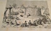 CONGO.- Africa Pintoresca. Region de Los Grandes Lagos. El Congo. Exploraciones realizadas en el Oeste de Africa por Saborgnan de Brazza. . GIRAUD ...