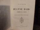 Jeanne d'Arc l'héroïne de la France.. Lescure, Monsieur de.