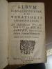 Album Dianae Leporicidae sive venationis leporinae leges. Ad Illustrisimum Pompnium de Believre, Supremi Galliarum Senatus Principem.. Savary, Jacques ...