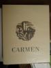 Carmen, Gravures originales de Jean Traynier.. Mérimée, Prosper