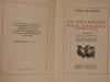 En Délissant des Calons rimouée en Patois, Bois gravés originaux d'André Deslignères, préface de Raoul Toscan. Blanchard, Georges