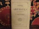 Poètes et artistes contemporains.. Nettement, Alfred.