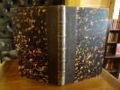 Botanique Cryptogamique ou histoire des familles naturelles des plantes inférieures. Deuxième édition, revue et annotée par H. Baillon.. Payer, J.