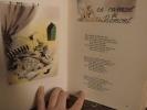 Le plaisir des Dieux, Chansons de Salles de Garde, Illustrations de Raymond Lep  avec les 5 disques..