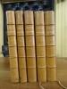 Les Cinq livres de F. Rabelais, publiés avec des variantes et un glossaire par P. Chéron. et ornés de Onze Eaux-Fortes par E. Boilvin.  . Rabelais, ...