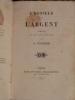L'honneur et l'Argent, Comédie en cinq actes et en vers.. Ponsard François