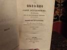 Les soirées de Saint-Pétersbourg, ou entretiens sur le gouvernement temporel de la providence; suivies d'un traité sur les sacrifices. . Maistre, ...