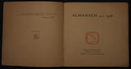 ALMANACH POUR 1908 . Collectif