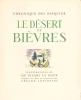 Le Désert de Bièvres. DUHAMEL Georges