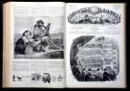 L'Univers illustré, journal hebdomadaire,1861, année complète du N°138 ( 3 janvier 1861) au N° 188 (26  décembre 1861)..