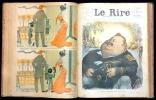 Le RIRE,   Journal humoristique paraissant le samedi  ( 27 numéros reliés de mai 1897 à octobre 1900).. JUVEN  Félix,  ALEXANDRE Arsène et collectif ...