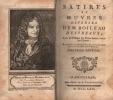 SATIRES ET OEUVRES DIVERSES, avec les passages des Poètes latins imités par l'auteur,  augmentées de plusieurs  pièces  qui n'ont point encore paru, ...