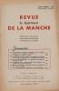 . [REVUE] Le Pesant, Thibout, Durand de Saint-Front, De la Morandière, Leberruyer, Abbé Lechat, Le Maresquier.