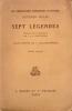 SEPT LEGENDES.. KELLER Gottfried.