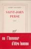 SAINT-JOHN PERSE.. [SAINT-JOHN PERSE] Albert LORANQUIN.