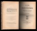HISTOIRE DES DEBATS POLITIQUES DU PARLEMENT ANGLAIS DEPUIS LA REVOLUTION DE 1688. FORNERON H.