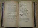 L'Etoile : du N°49 (janvier 1893) au N°60 (décembre 1893). 2 volumes.. COLLECTIF