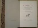 Les Canettes de Jirome Roquet dit Tampia, ouvrié taffetaquié : pouëme etique, chansons, pouésies diverses, pieces de prose tramé de vêr & et autres.. ...