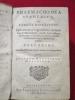 Pharmacopoea spagyrica sive exacta descriptio (9 parties reliées ensembles).. GLAUBERUM Joannem Rudolphum (GLAUBER).