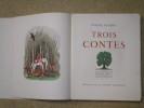 Trois contes : un coeur simple, la légende de saint Julien l'Hopitalier, Hérodias.. FLAUBERT Gustave / MARTY A.-E. (illustrations)