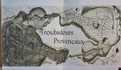 TROUBADOURS provençaux. Gravures de Brigitte Coudrain.. VIDAL, Peire - TENSON avec RAIMBAUT D'ORANGE - Comtesse de DIE - RAIMBAUT DE VAQUEYRAS - ...