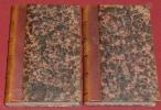 La Guerre et la Paix. Recherches sur le principe et la Constitution du Droit des Gens (2 volumes).. PROUDHON, Pierre-Joseph.