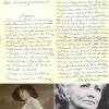Longue lettre autographe signée adressée à la comédienne Louise Conte à propos de la diffusion du Cardinal d'Espagne de Montherlant à la télévision.  ...