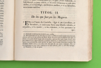 El Fuero Viejo de Castilla, Sacado, y comprobado con el exemplar de la misma Obra, que existe en la Real Biblioteca de esta Corte, y con otros MSS. ...