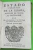Estado politico de la Europa, traducido del francés al castellano por Mr. Le-Margne, y el Doctor Don Antonio Maria Herrer. Tomo primero. Bruzen de la ...