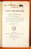 Élémens de calcul différentiel et de calcul intégral par J.-L. Boucharlat,...– 4ème èd. Considérablement augmentée.. Boucharlat, Jean-Louis, 1775-1848