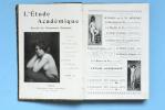 L' Étude académique : recueil de documents humains, illustré par la photographie d'après nature et comprenant 550 études d'hommes de femmes et ...