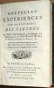 Nouvelles expériences sur la résistance des fluides, par MM. d'Alembert, le Marquis de Condorcet, & l'Abbé Bossut, Membres de l'Académie Royale des ...