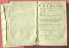 Le Gvidon general des finances, Avec les Annotations de M. Vincent Gelée, Conseiller du Roy, & Correcteur ordinaire de sa Chambre des Comptes: Liure ...