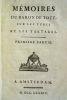 Mémoires du baron de Tott sur les Turcs et les Tartares. Premiere [-quatrieme] partie.. Tott, François de (1733–1793)