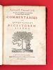 Antoni PerezI ... Commentarius in quinque et viginti Digestorum libros.. Perez, Antonio (1583-1673)