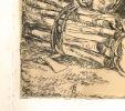 La Mort et le Bûcheron [gravure].
