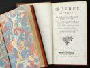 Oeuvres diverses de M. Francois Boissier de Sauvages, Docteur en Medecine & Professeur Royal en l' Université de Montpellier... Tome premier [- ...