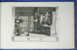 Industry and Idleness. Design'd by Wm. Hogarth. Engraved by T. Cook. Hogarth, William (1697–1764) ; Cook, Thomas (1744-1818)