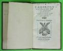 F. Ambrosii Catharini Politi episcopi Minoriensis. Interpretatio noni cap. synodalis decreti de iustificatione. Catarino, Ambrogio [Lancelotto Politi] ...